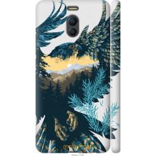 Чехол на Meizu M6 Note Арт-орел на фоне природы