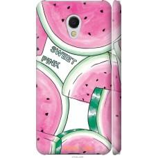 Чехол на Meizu MX6 Розовый арбузик