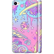Чехол на Meizu U20 'Розовый космос
