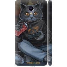 Чехол на Meizu M5 Note gamer cat