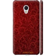 Чехол на Meizu MX6 Чехол цвета бордо