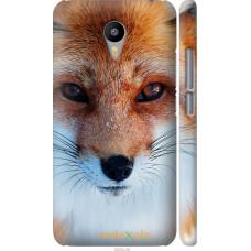Чехол на Meizu M2 Note Рыжая лисица