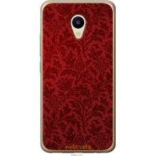 Чехол на Meizu M5 Чехол цвета бордо