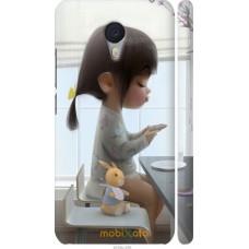 Чехол на Meizu M3 Note Милая девочка с зайчиком