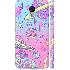 Чехол на Meizu M3 Note 'Розовый космос