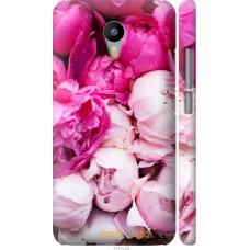Чехол на Meizu M2 Note Розовые цветы