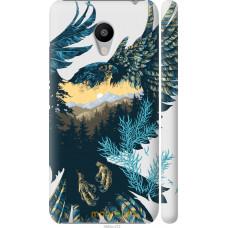 Чехол на Meizu M3 Арт-орел на фоне природы