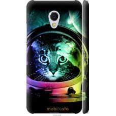 Чехол на Meizu MX6 Кот космонавт
