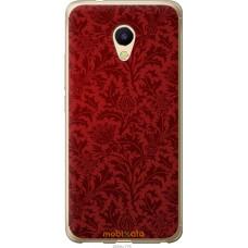 Чехол на Meizu M5s Чехол цвета бордо