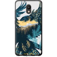 Чехол на Meizu M6 Арт-орел на фоне природы