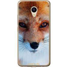 Чехол на Meizu M5 Рыжая лисица