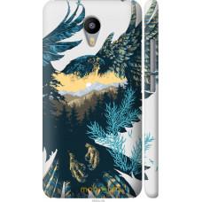 Чехол на Meizu M2 Note Арт-орел на фоне природы