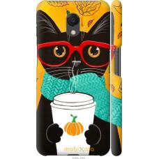Чехол на Meizu M6s Осенний кот