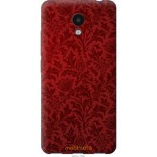 Чехол на Meizu M5c Чехол цвета бордо