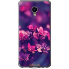 Чехол на Meizu M3e Весенние цветочки
