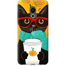Чехол на Meizu Pro 6 Осенний кот