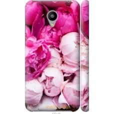 Чехол на Meizu M2 Розовые цветы