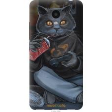 Чехол на Meizu M5c gamer cat