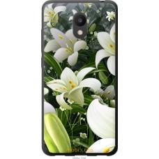 Чехол на Meizu M6 Лилии белые