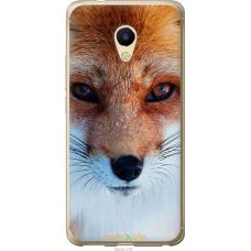 Чехол на Meizu M5s Рыжая лисица