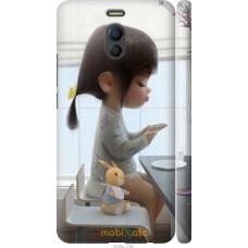 Чехол на Meizu M6 Note Милая девочка с зайчиком