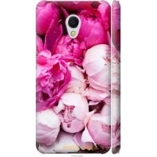 Чехол на Meizu MX6 Розовые цветы
