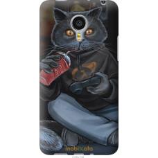 Чехол на Meizu MX4 PRO gamer cat