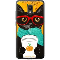 Чехол на Meizu M6 Осенний кот