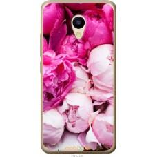 Чехол на Meizu M5 Розовые цветы