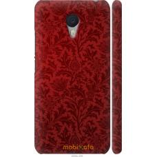 Чехол на Meizu M3 Note Чехол цвета бордо
