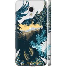 Чехол на Meizu MX6 Арт-орел на фоне природы