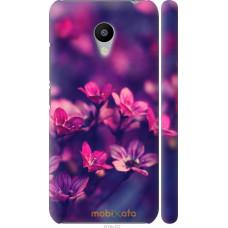 Чехол на Meizu M3 Весенние цветочки