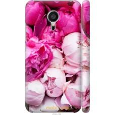 Чехол на Meizu MX5 Розовые цветы