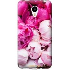 Чехол на Meizu M1|M1 mini Розовые цветы