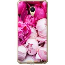 Чехол на Meizu M5s Розовые цветы