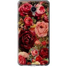 Чехол на Meizu M3e Прекрасные розы