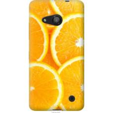 Чехол на Microsoft Lumia 550 Апельсинки