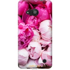 Чехол на Microsoft Lumia 550 Розовые цветы