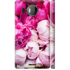 Чехол на Microsoft Lumia 950 XL Dual Sim Розовые цветы