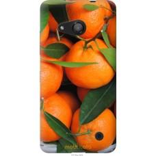 Чехол на Microsoft Lumia 550 Мандарины