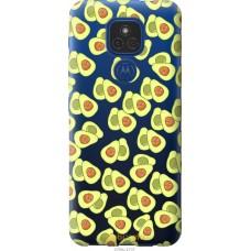 Чехол на Motorola E7 Plus Весёлые авокадо