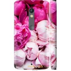 Чехол на Motorola Moto X Play Розовые цветы