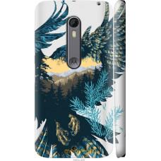 Чехол на Motorola Moto X Style Арт-орел на фоне природы