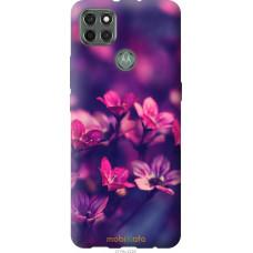 Чехол на Motorola G9 Power Пурпурные цветы