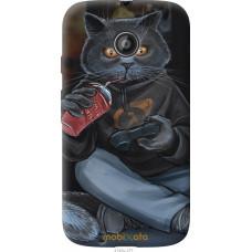 Чехол на Motorola Moto E2 gamer cat