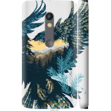 Чехол на Motorola Moto X Play Арт-орел на фоне природы