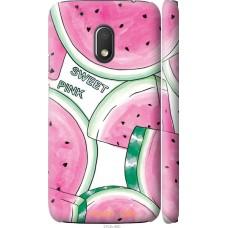 Чехол на Motorola Moto G4 Play Розовый арбузик