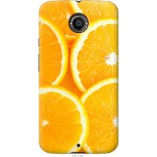Чехол на Motorola Moto X2 Апельсинки