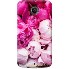 Чехол на Motorola Moto X2 Розовые цветы
