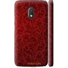 Чехол на Motorola Moto G4 Play Чехол цвета бордо